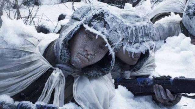 长津湖之战志愿军为阻击陆一师撤退 整连冻死在水门桥阻击阵地