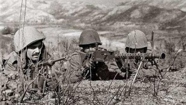 南朝鲜人好不容易逃出志愿军的包围,结果又命丧在土耳其友军枪下
