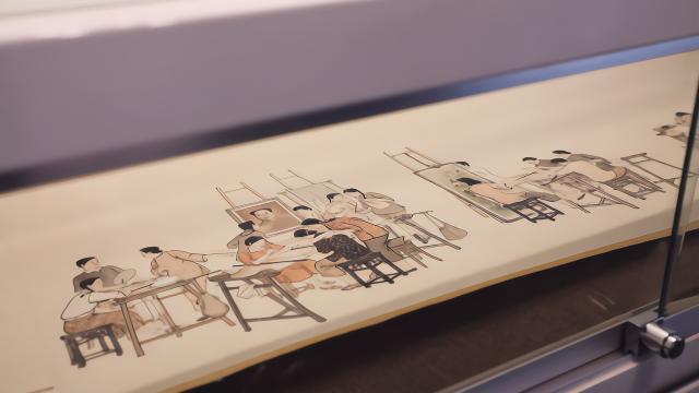 江南名家费新我书画作品展正在名城艺术馆展出