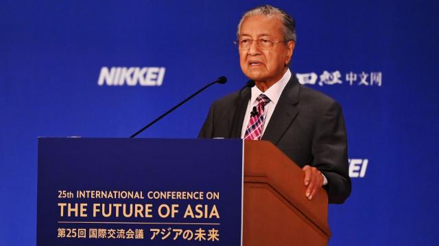 马来西亚总理:将尽量使用华为技术!