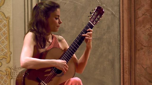 Ana Vidovic 古典吉他演奏El Marabino
