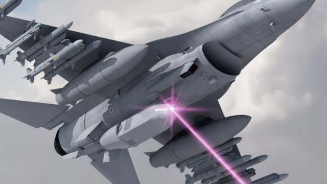 F15也要安装激光炮?美军用新概念武器争夺未来制空权