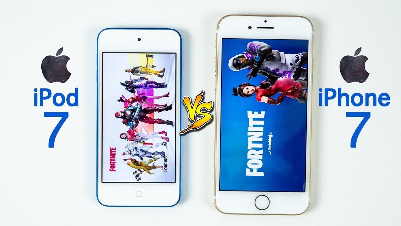 2019款iPod touch上架!对比iPhone7,苹果这是在检测智商!