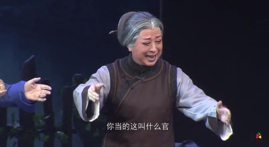 一家人为何总吃两家饭 柏青豫剧《九品巡检》