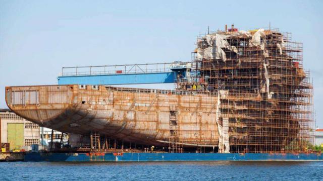 韩国造船今年首次反超中国,拿下全球第一,只因我们还存在一短板
