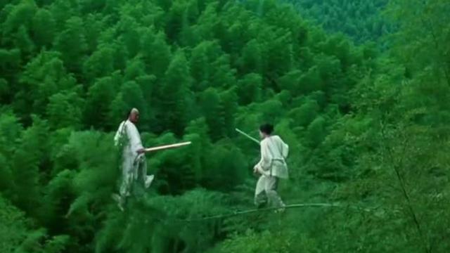 竹林斗剑,经典的李安的武术美学