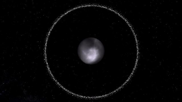 土星和海王星轨道之间的小行星女凯龙星