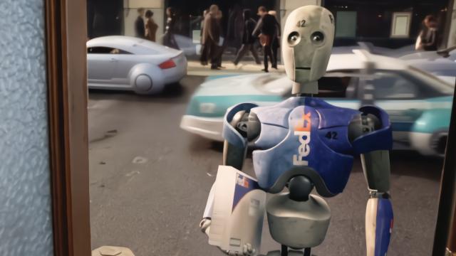 人工智能机器人帮您送邮件、送快递、遛狗、清理垃圾