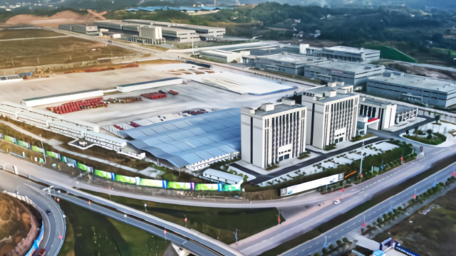 重庆公路物流基地——重庆唯一的国家级综合性枢纽