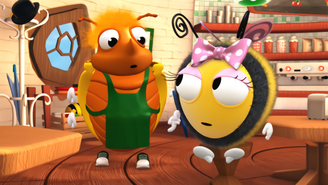 小蜜蜂:一个健康的身体才是最重要的!图片