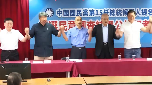 韩国瑜初选胜出发表讲话 痛批蔡政府令人失望