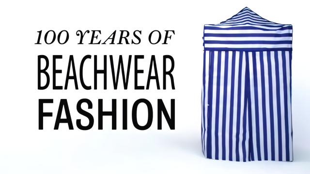 带你回顾时尚泳衣百年变化史