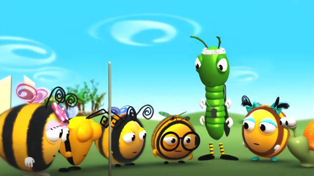 小图片:小朋友千万不要剧透哦!最a图片的文字恐龙加蜜蜂图片
