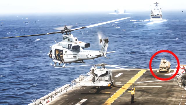伊朗无人机被击落?美军改口:新武器干扰使其失能