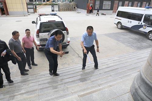 <b>甘肃省高级人民法院督查调研环县人民法院工作</b>