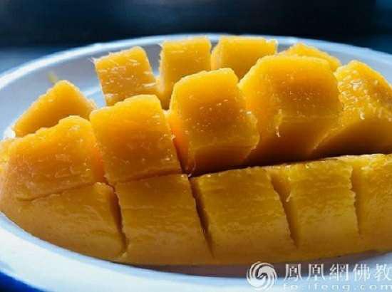 炎炎夏日 这才是芒果的正确打开方式
