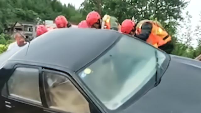 十堰大暴雨引发山洪 6人遇难6人失联