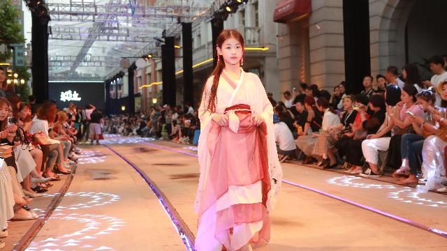 南京国际儿童时装走秀