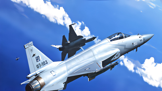 巴基斯坦向印巴边境增兵 疑在前线部署枭龙战机