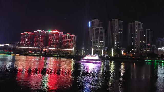 十年前曾是亚洲第一高的河源新丰江音乐喷泉9
