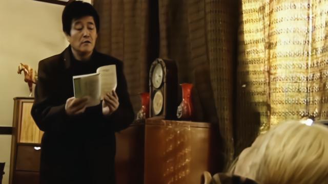 马大帅:马大帅念书好似催眠曲,直接给老太太念睡着了!真厉害!