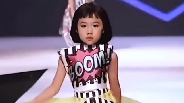 世界上年龄最小的时装模特来自马来西亚