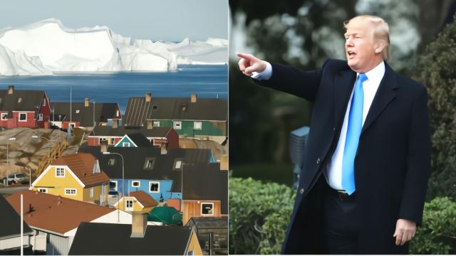 特朗普称想买格陵兰岛 丹麦首相: 这太荒谬了!