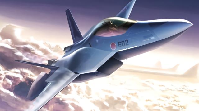 日本最新战斗机曝光!不是心神:比F22还厉害