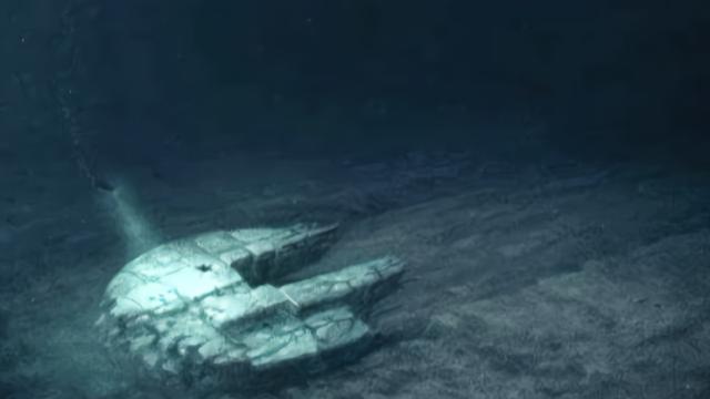 有人探访了波罗的海的海底UFO,你相信这会是天然形成的吗?