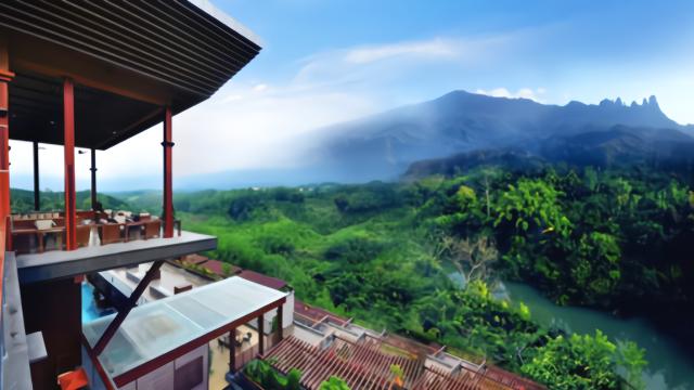 海南七仙岭,掩映在热带雨林中,慢生活度假,修身养性!