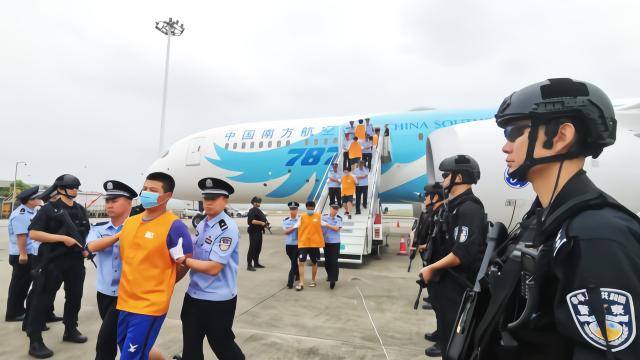 重庆警方跨境合作抓获150名电信诈骗犯罪嫌疑人