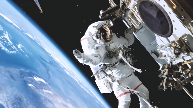 在外太空打嗝将发生什么,太空人说出了答案