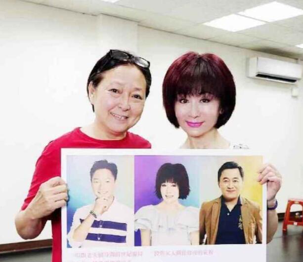 66岁方芳和70岁潘迎紫合影照曝光,网友:怎么像母女俩?