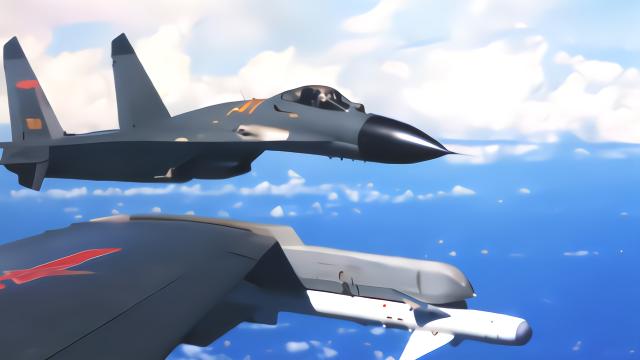 空军公布海上驱离外机影像 歼20七机编队也亮相