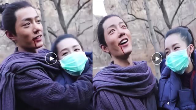 """肖战搂李沁脖子显亲昵 还被对方称为""""妇女之友"""""""
