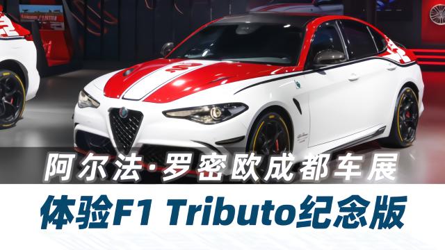 体验阿尔法·罗密欧F1 Tributo纪念版 Vlog204