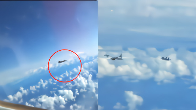 拦截现场曝光!俄军轰炸机波罗的海上空巡航 欧洲5国联手拦截