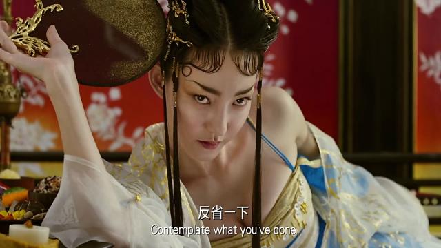 王丽坤颠覆形象!也就在徐克导演的电影里,能看见这么妖艳的她