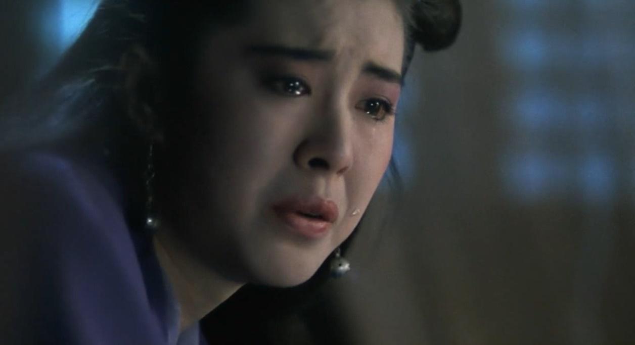 王祖贤一滴泪我的心都快化了,玉容寂寞泪阑干,梨花一枝春带雨