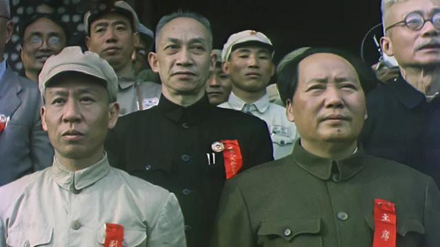 1949年开国大典彩色视频复原,太珍贵了,必须珍藏