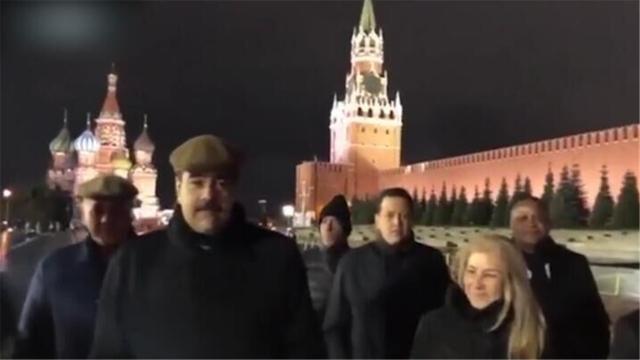 委总统马杜罗玩起Vlog:漫步红场心情好 向普京表达谢意
