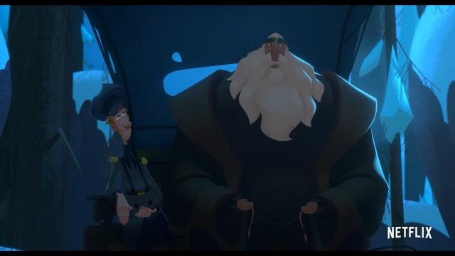 Netflix动画电影《克劳斯:圣诞节的秘密》官方中文预告
