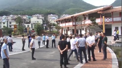 大田县党政代表团到龙门镇洋畲村学习考察农旅结合项目