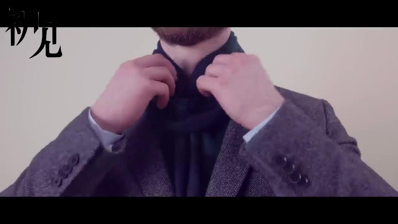 """10种潮流男士围巾系法,让你瞬间成为""""暖男""""! 片段02"""