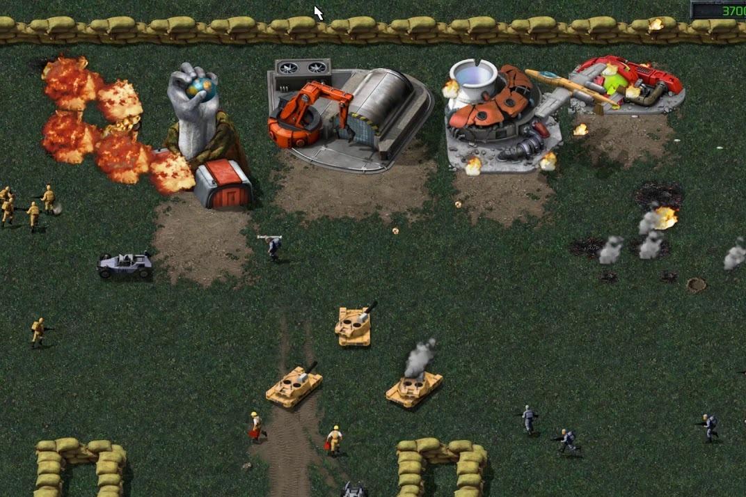 经典RTS《命令与征服》HD重制版实机画面