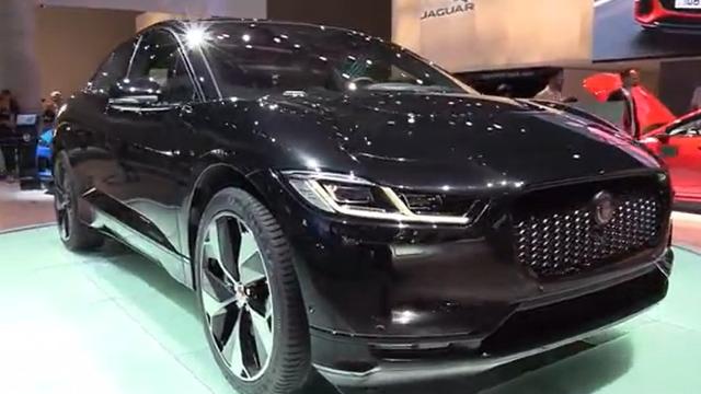 电动豹子,2020捷豹EV 400车展实拍