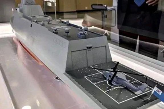 """""""世界最强""""驱逐舰,排水量达8千吨,整体性能碾压伯克驱逐舰"""