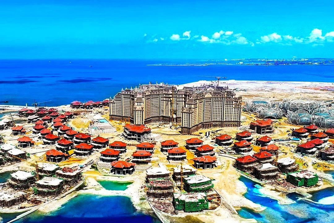 中国这座人工岛即将建成,耗资1600亿人民币,比迪拜的还壮观