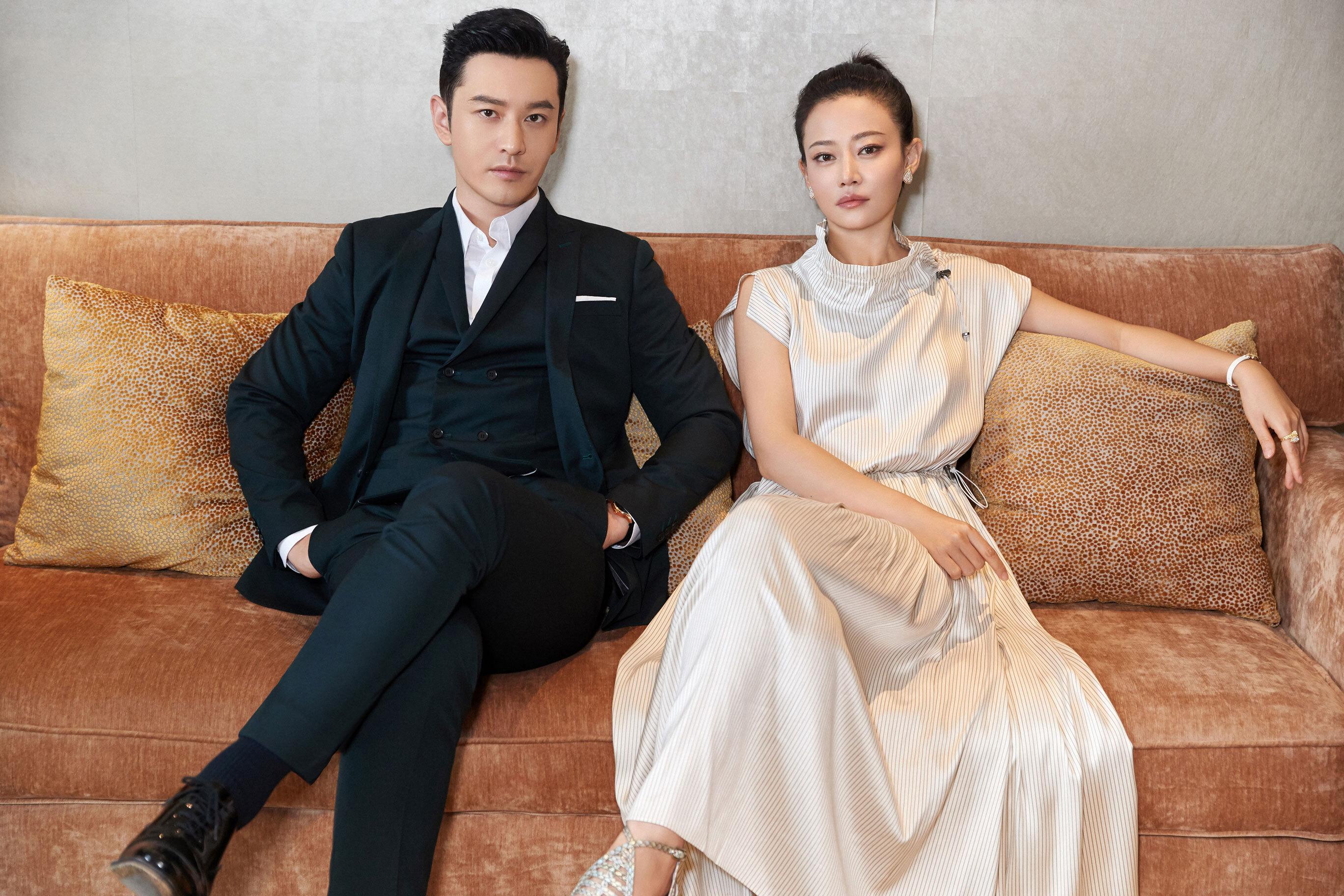 黄晓明谭卓亮相《危机先生》二度联手开启互虐模式