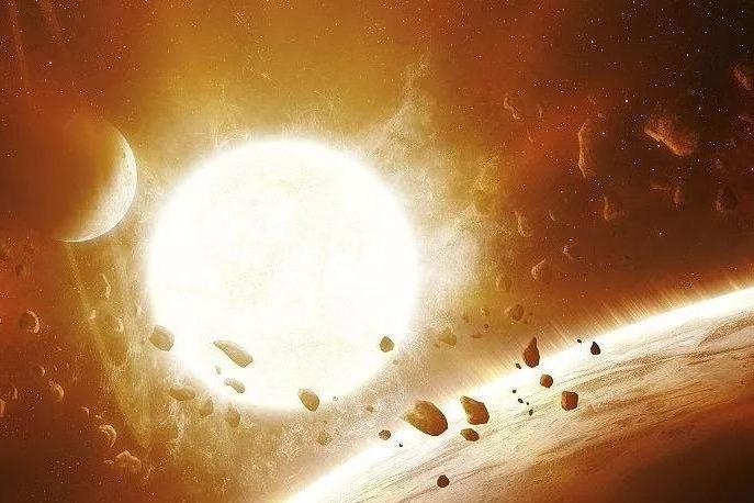 宇宙星河,星辰衍化,太阳与太阳系